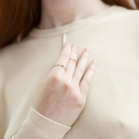 Birthstone Ring - May
