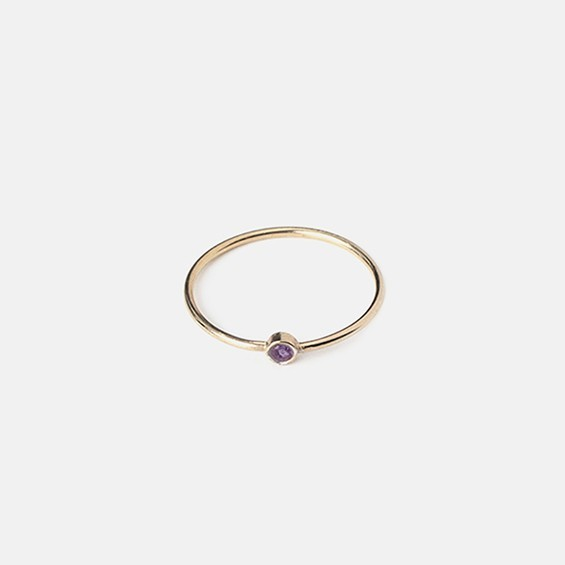 Birthstone Ring - February