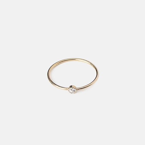 Birthstone Ring - April
